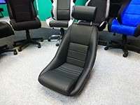 Cobra Classic RS bucket seats in-store at GSM Performance