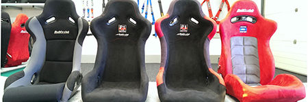 Buddy Club bucket seats and sport seat guide